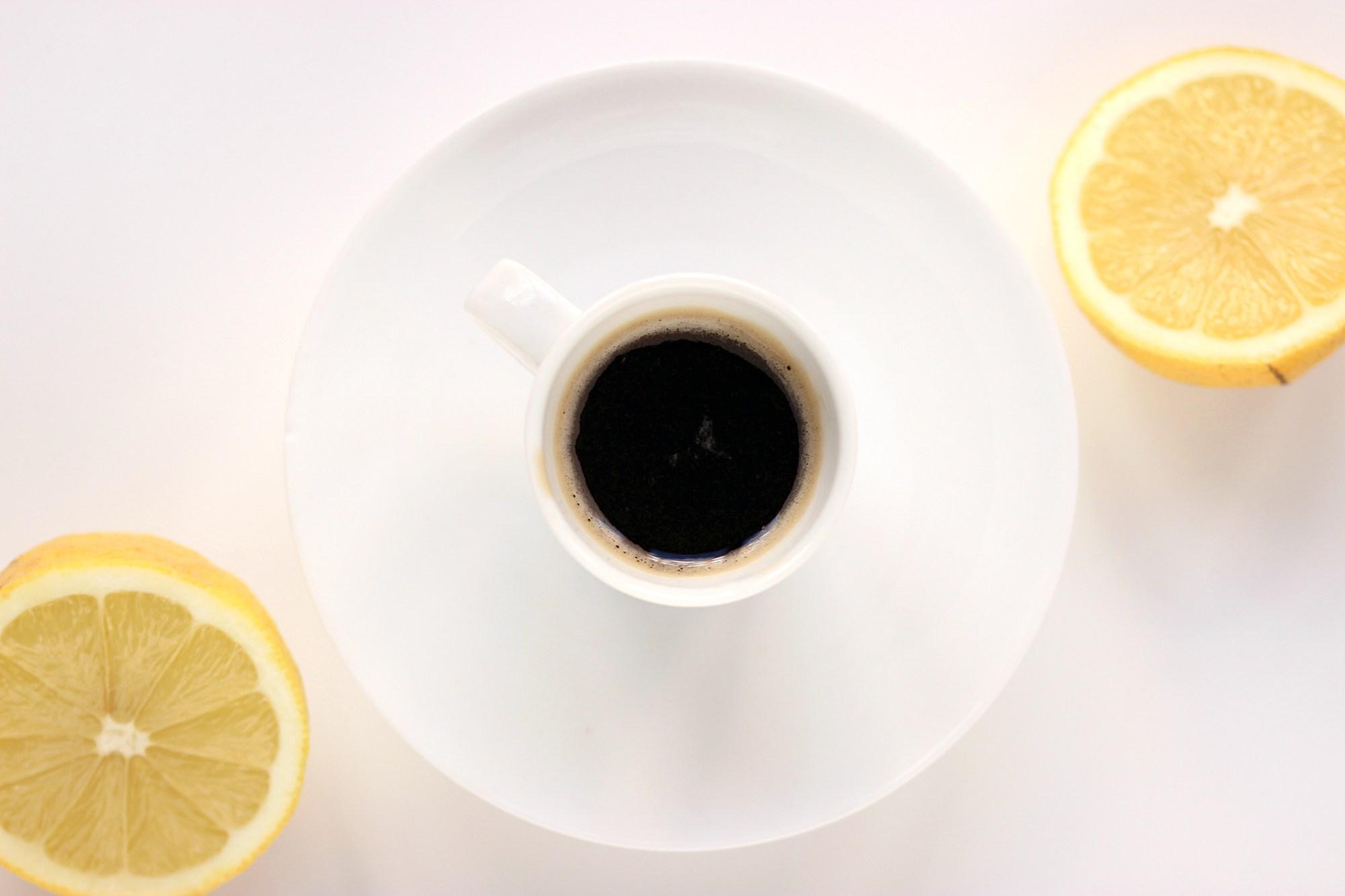 caffè con limone