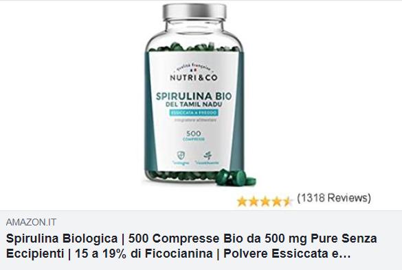 spirulina biologica